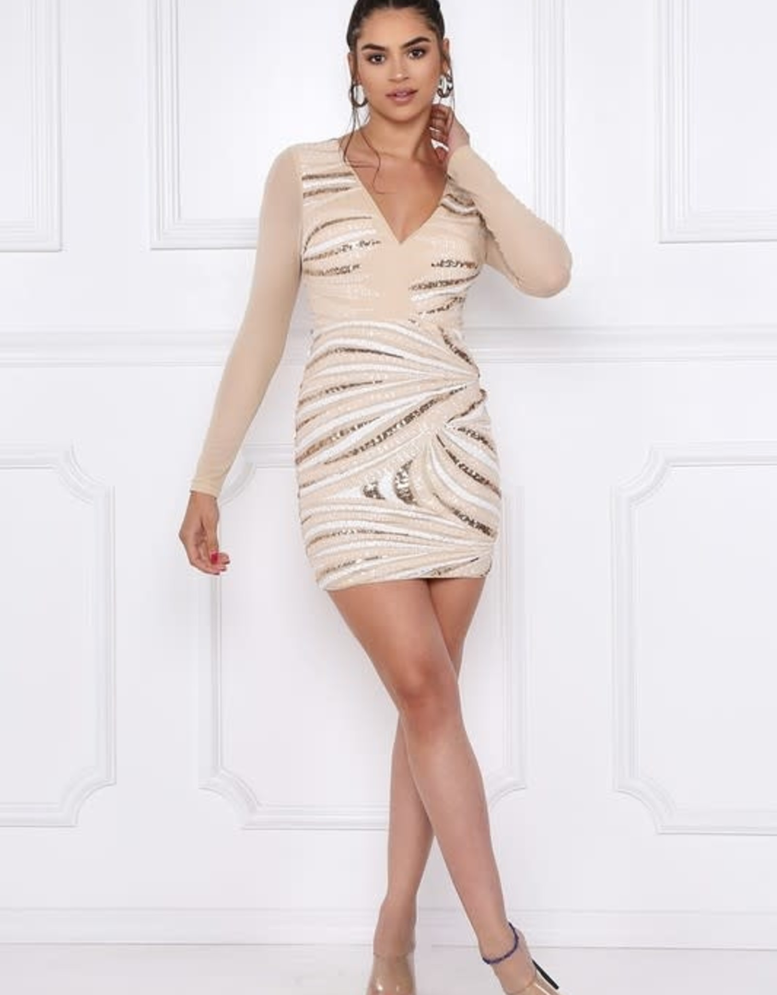 Simply Irresistible Sequin Dress