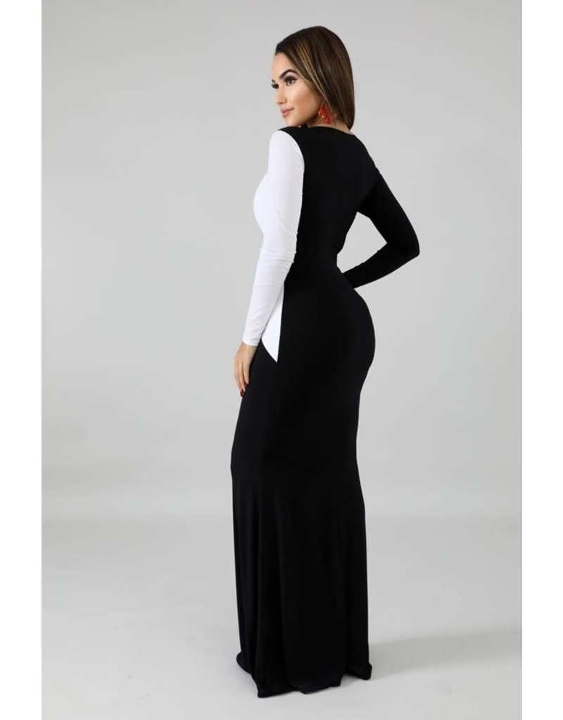 Over and Out Maxi Dress