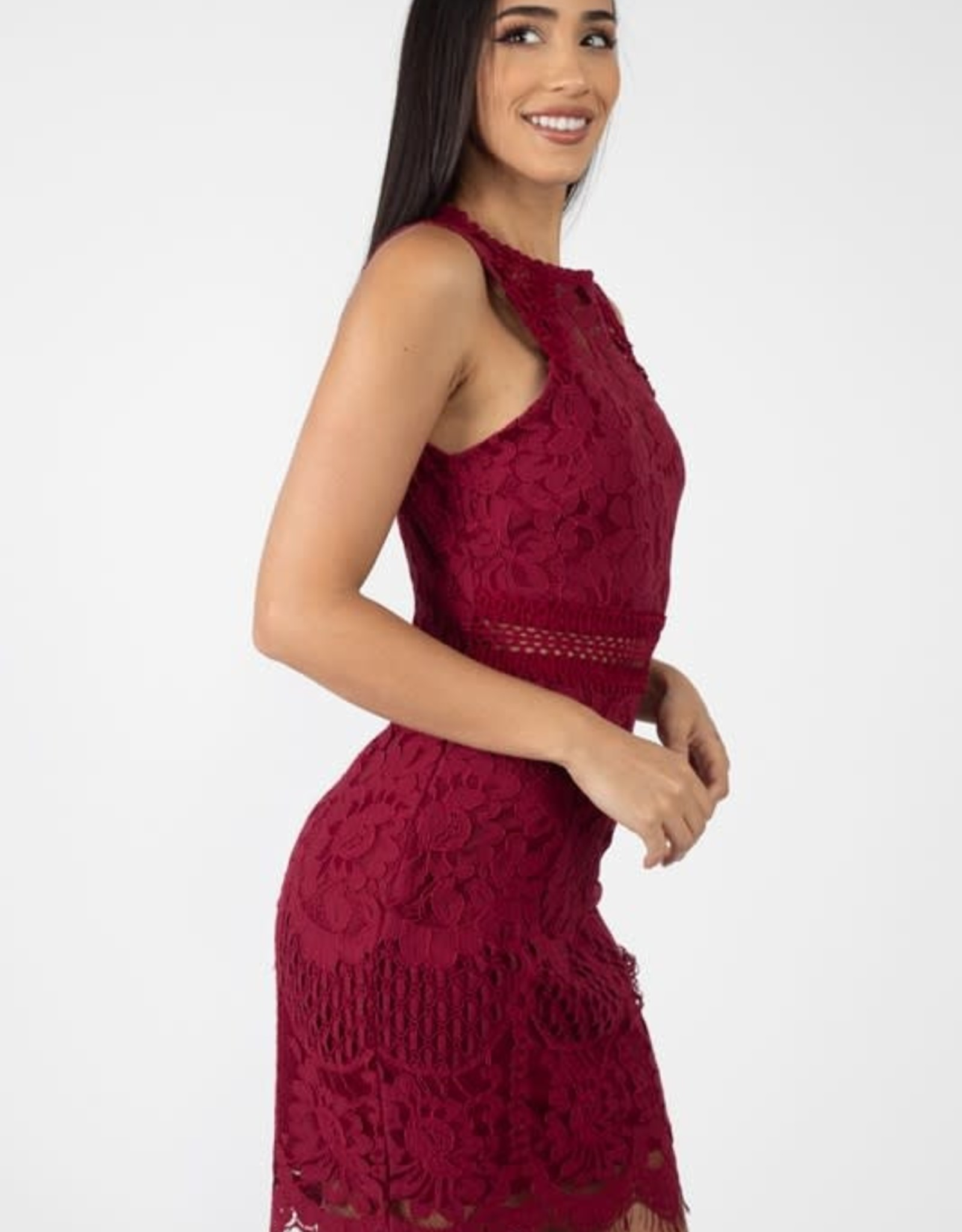 All Yours Crochet Dress