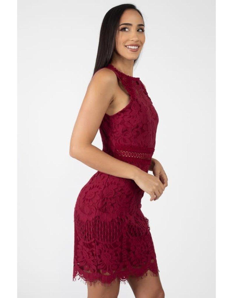 All Yours Crochet Dress