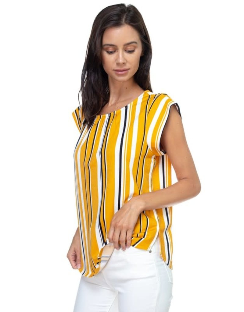 Light It Up Striped Top