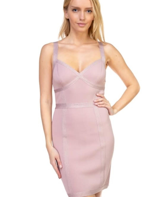 Sweet Like Candy Bandage Dress