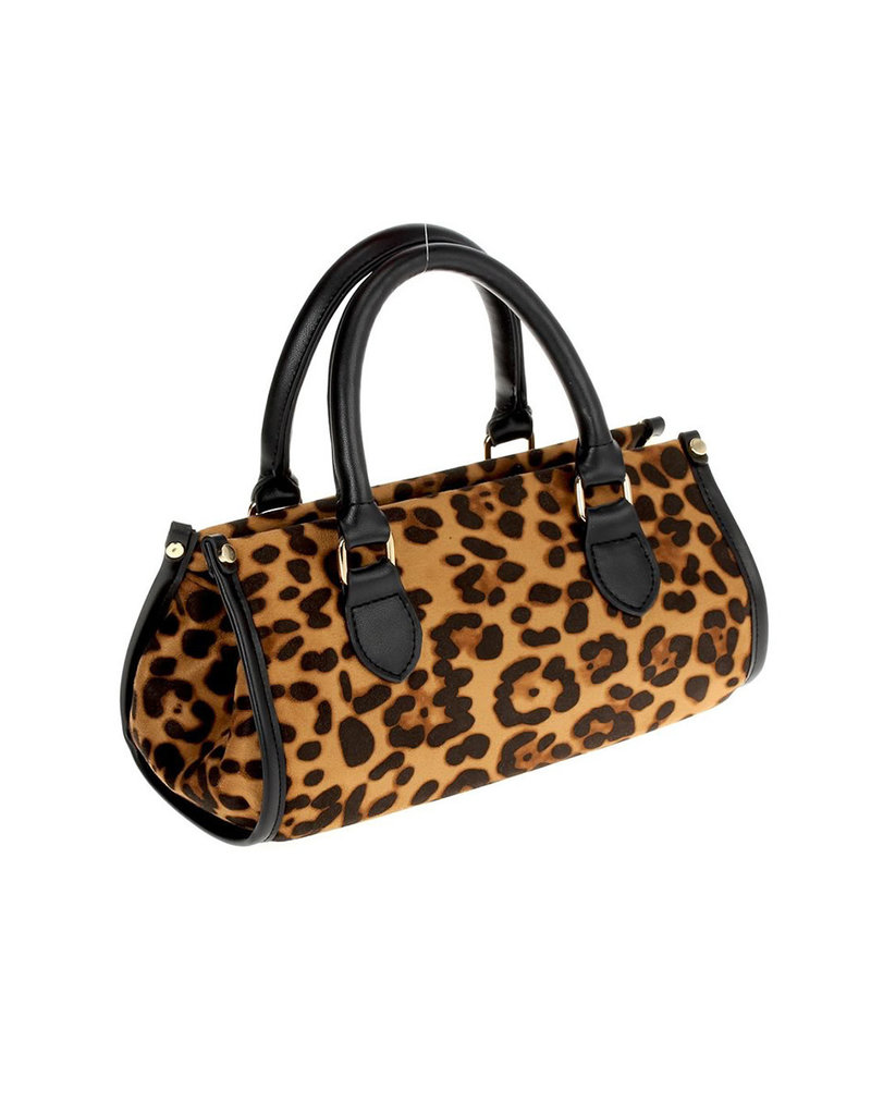 So Sneaky Leopard Bag