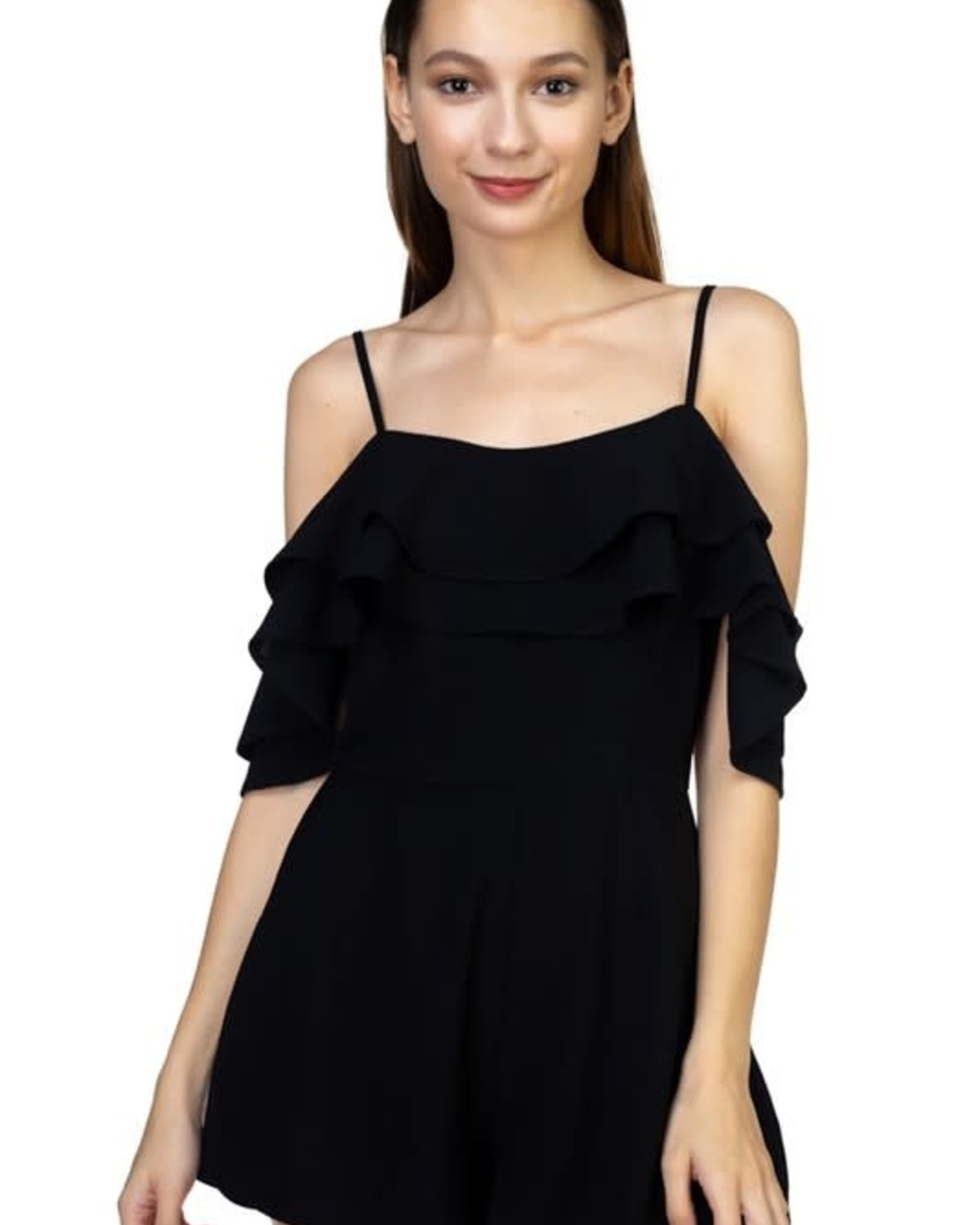 House Party Ruffle Romper
