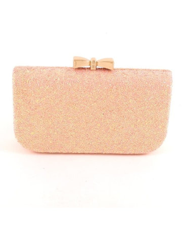 Lights Out Sparkle Clutch