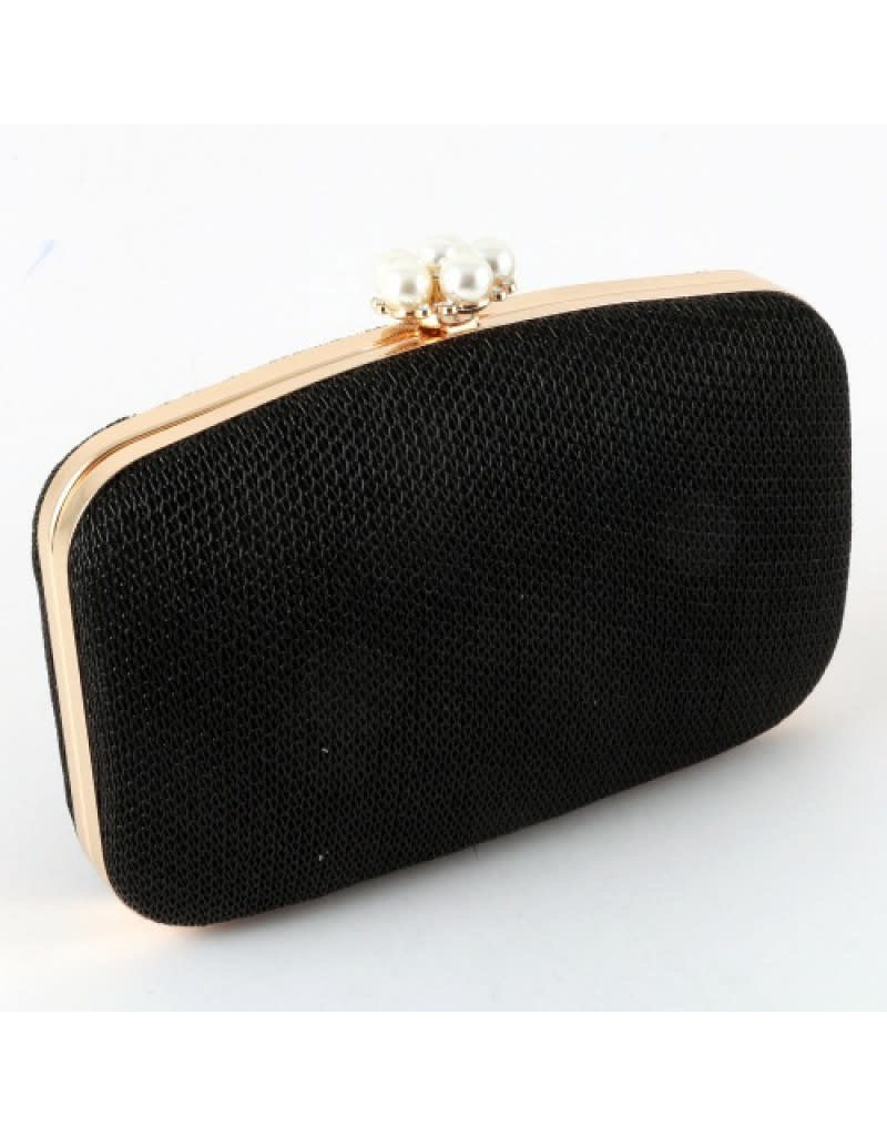 Feeling Lucky Pearl Accent Clutch
