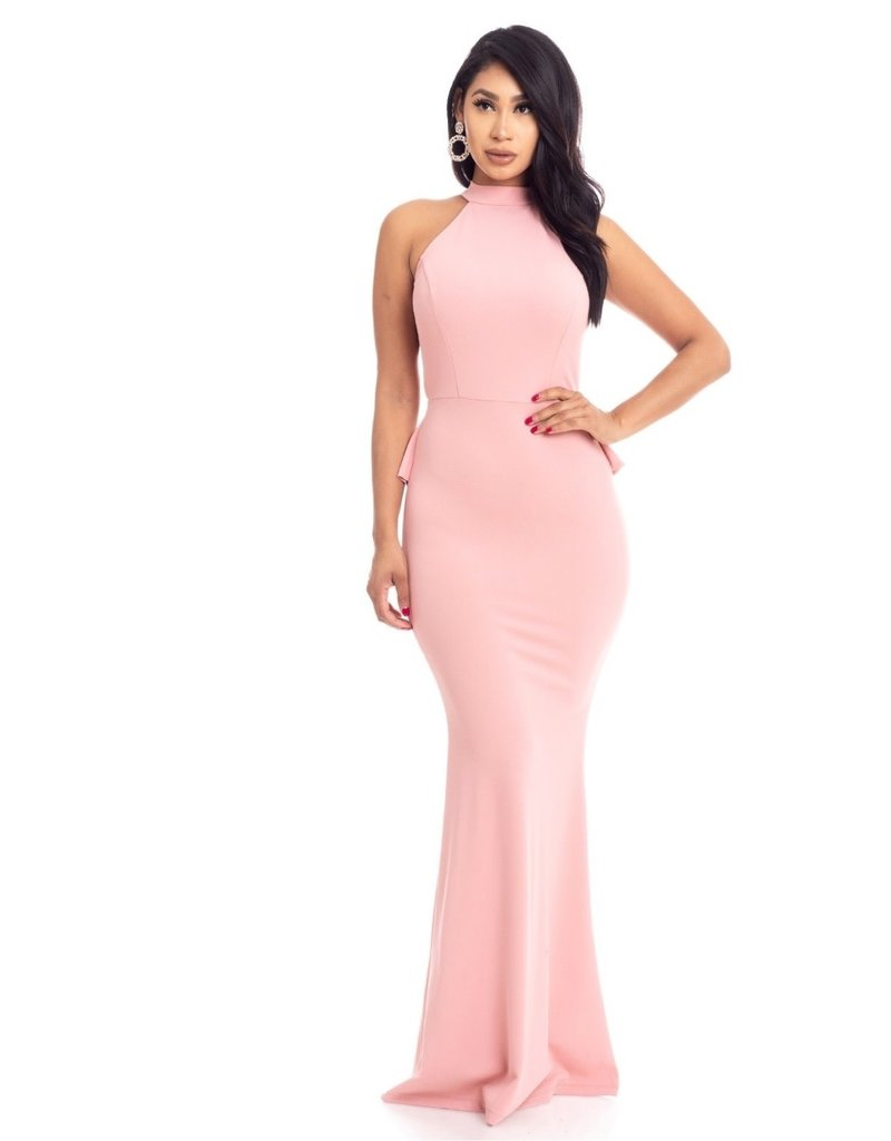 Out For The Evening Maxi Dress Rose