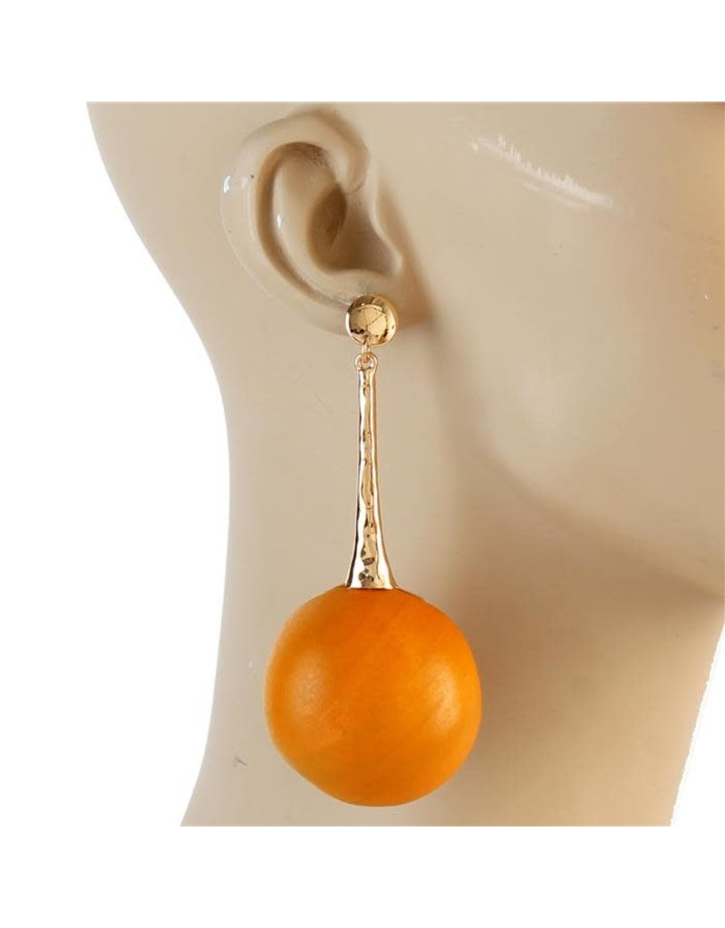 Ball Out Drop Earrings