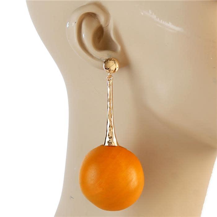 Ball Out Drop Earrings