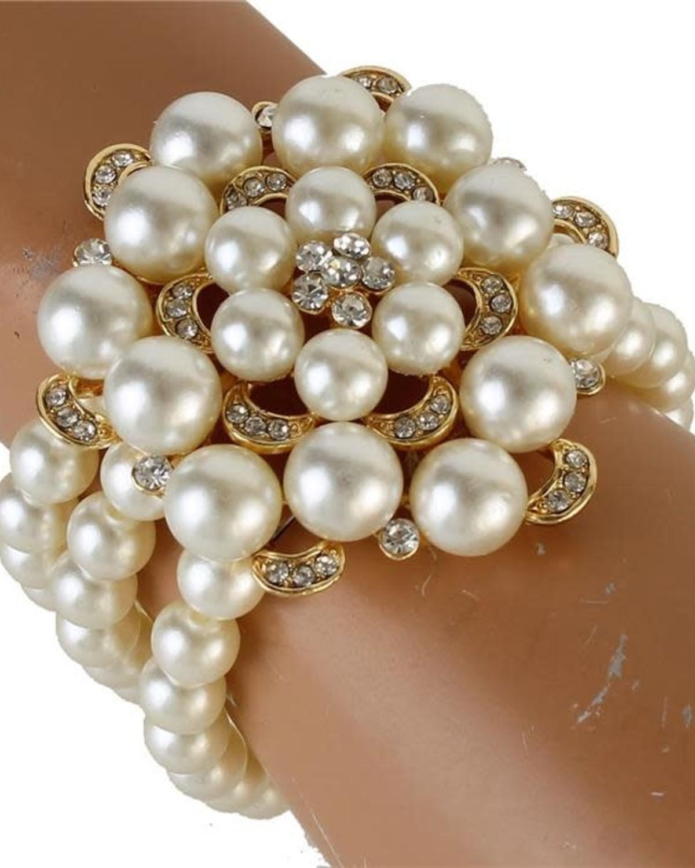 Roll Over Pearl Bracelet