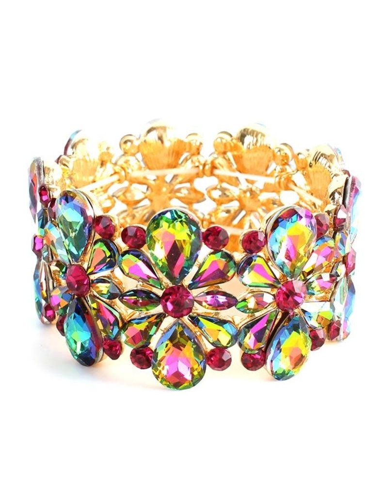 Floral Puff Bracelet