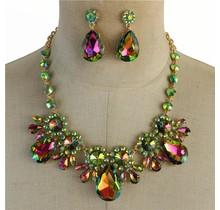 Burst Of Jewels Necklace Set
