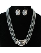So Not Round Necklace Set