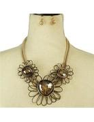 Full Bloom Necklace Set