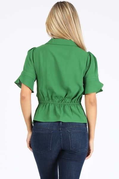Cash Out Belted Top
