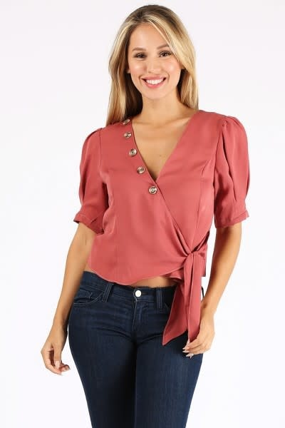 No Approval Wrap Top