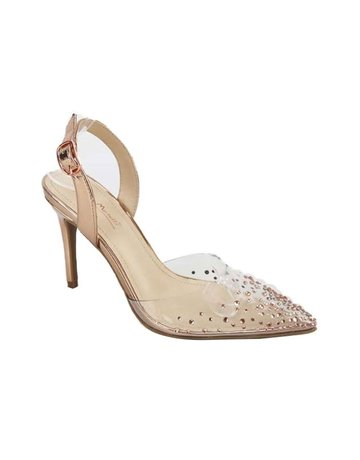 Time To Shine Heels Rose Gold
