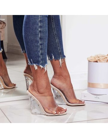 Side Line Clear Wedges