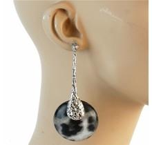 Wild Out Zebra Earrings