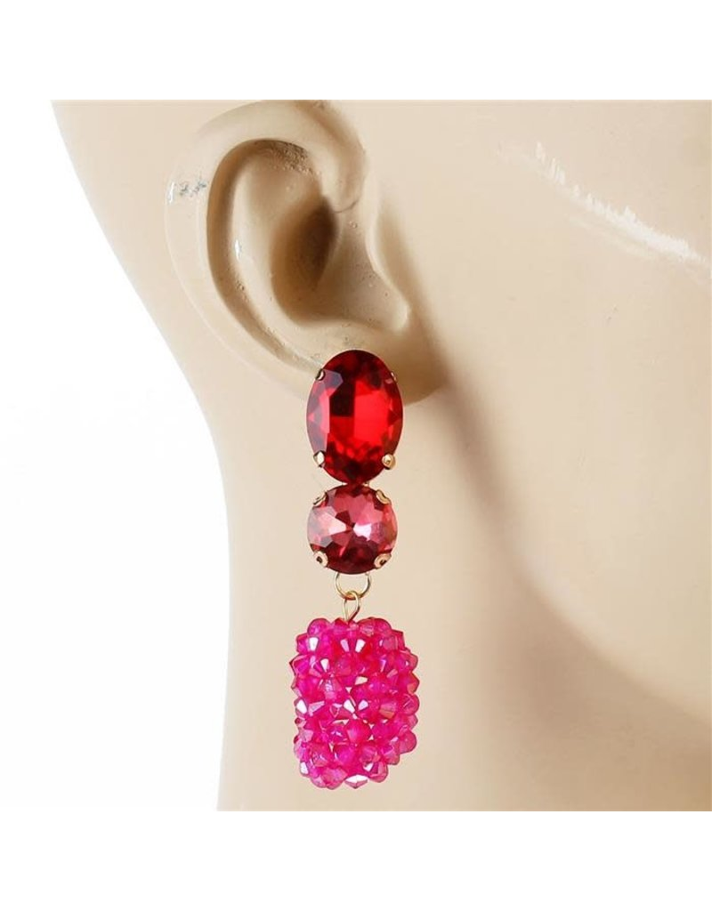 Bead Berry Earrings