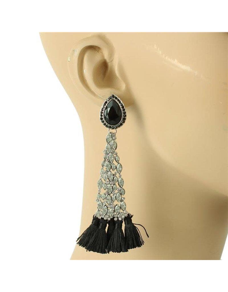 No Promises Tassel Earrings