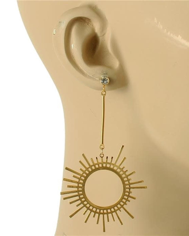 Sun Dial Earrings
