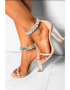 Heavenly High Clear Heels