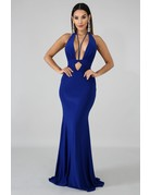 Double Dare You Plunge Maxi Dress