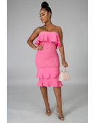 Candy Shop Ruffle Dress