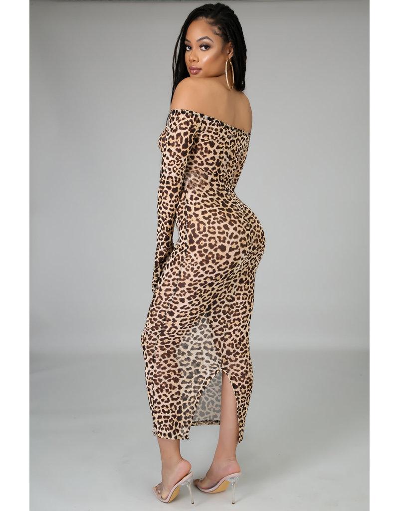 Wild Times Leopard Dress