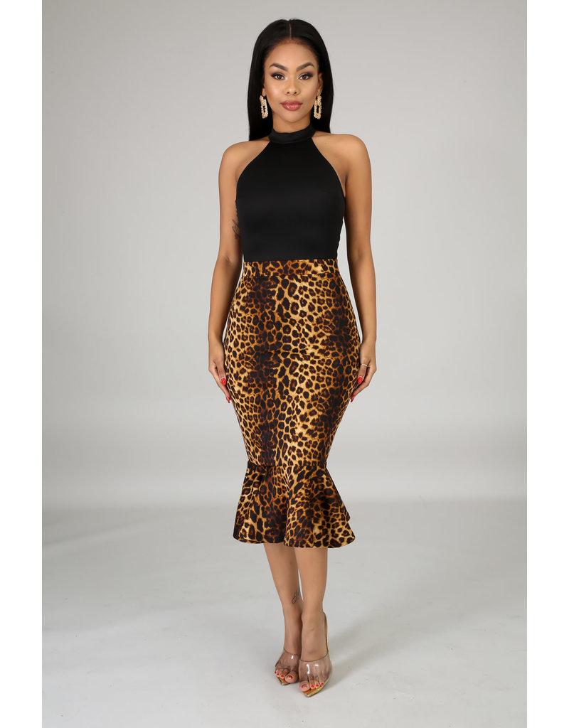 Show Your Spots Leopard Dress
