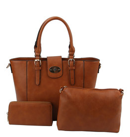 Lady On The Go Handbag Set 3-n-1