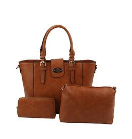 Lady On The Go Handbag Set 3-n-1
