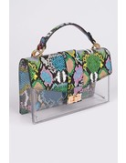 Life's A Party Snakeskin Bag