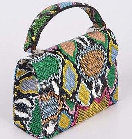 Snakes All Over Mini Bag