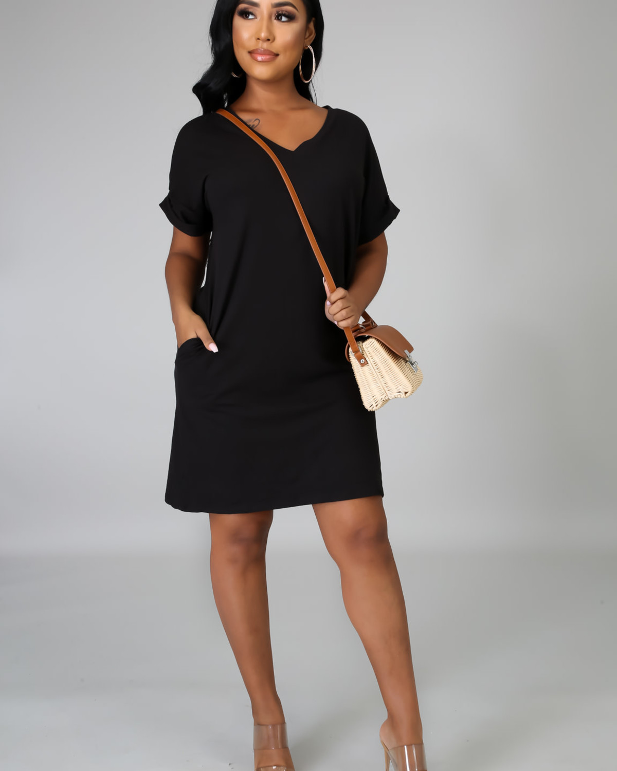 Chillax Dress BLACK