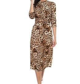 Not Wild Enough Leopard Dress