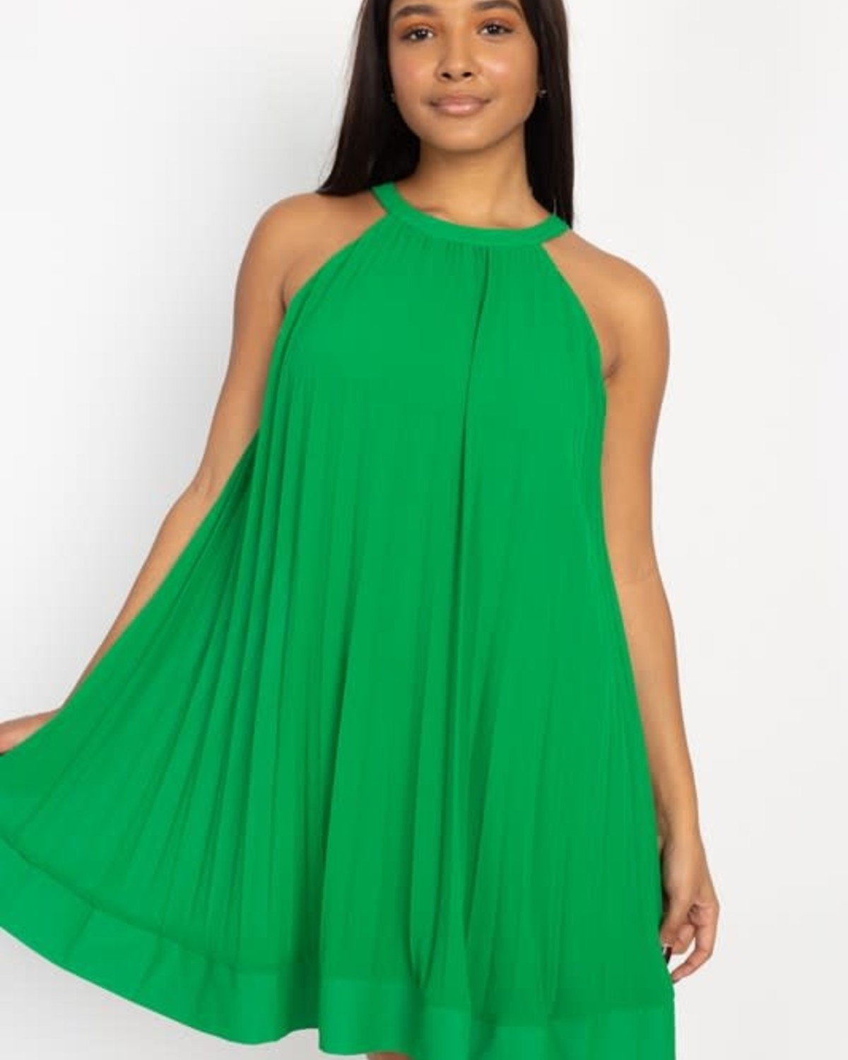 Need Some Time Dress Green