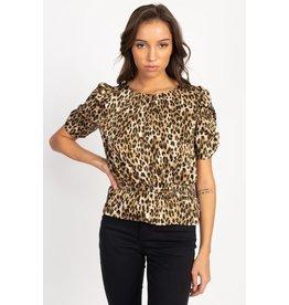 So Frisky Leopard Top