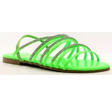 Let's Chill Sandals Green