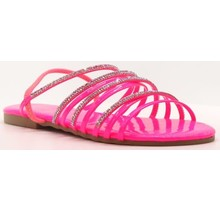 Let's Chill Sandals Pink