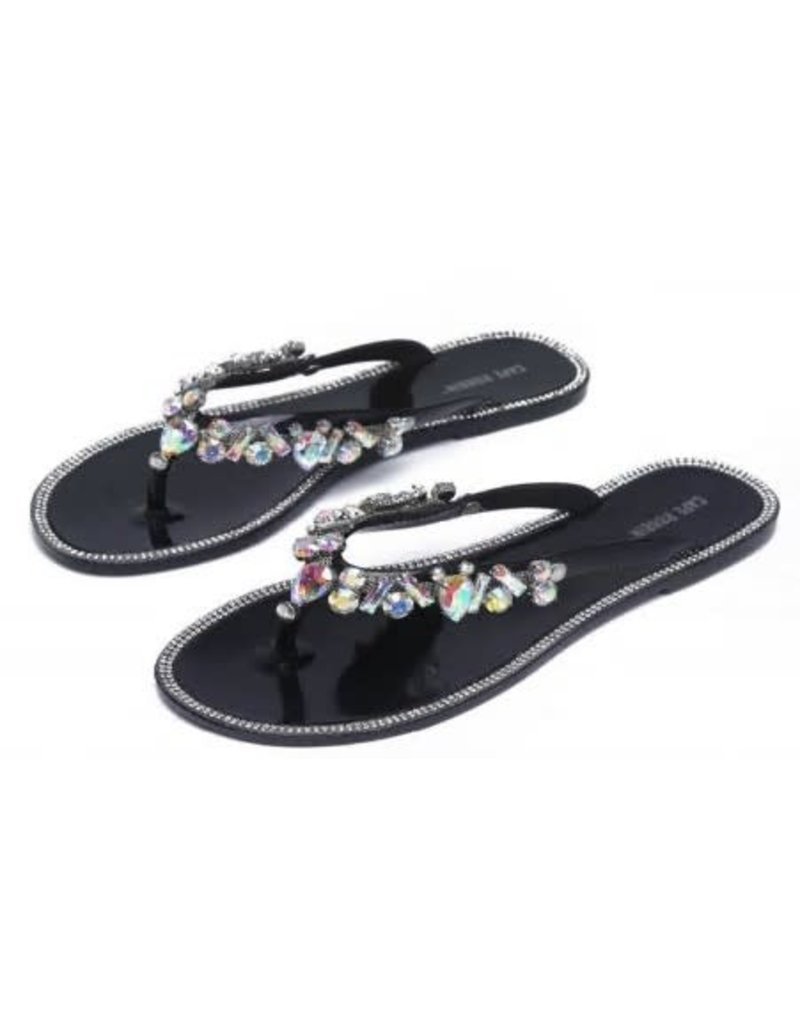 Dream Escape Sandals - Black