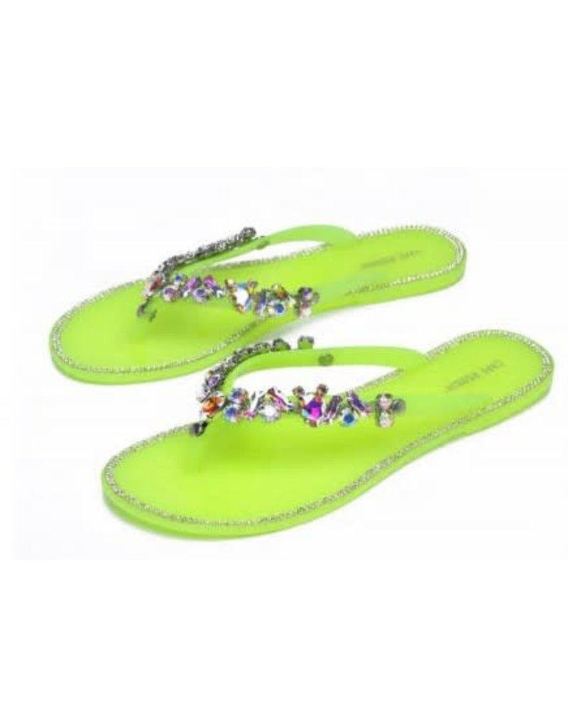 Dream Escape Sandals - Lime