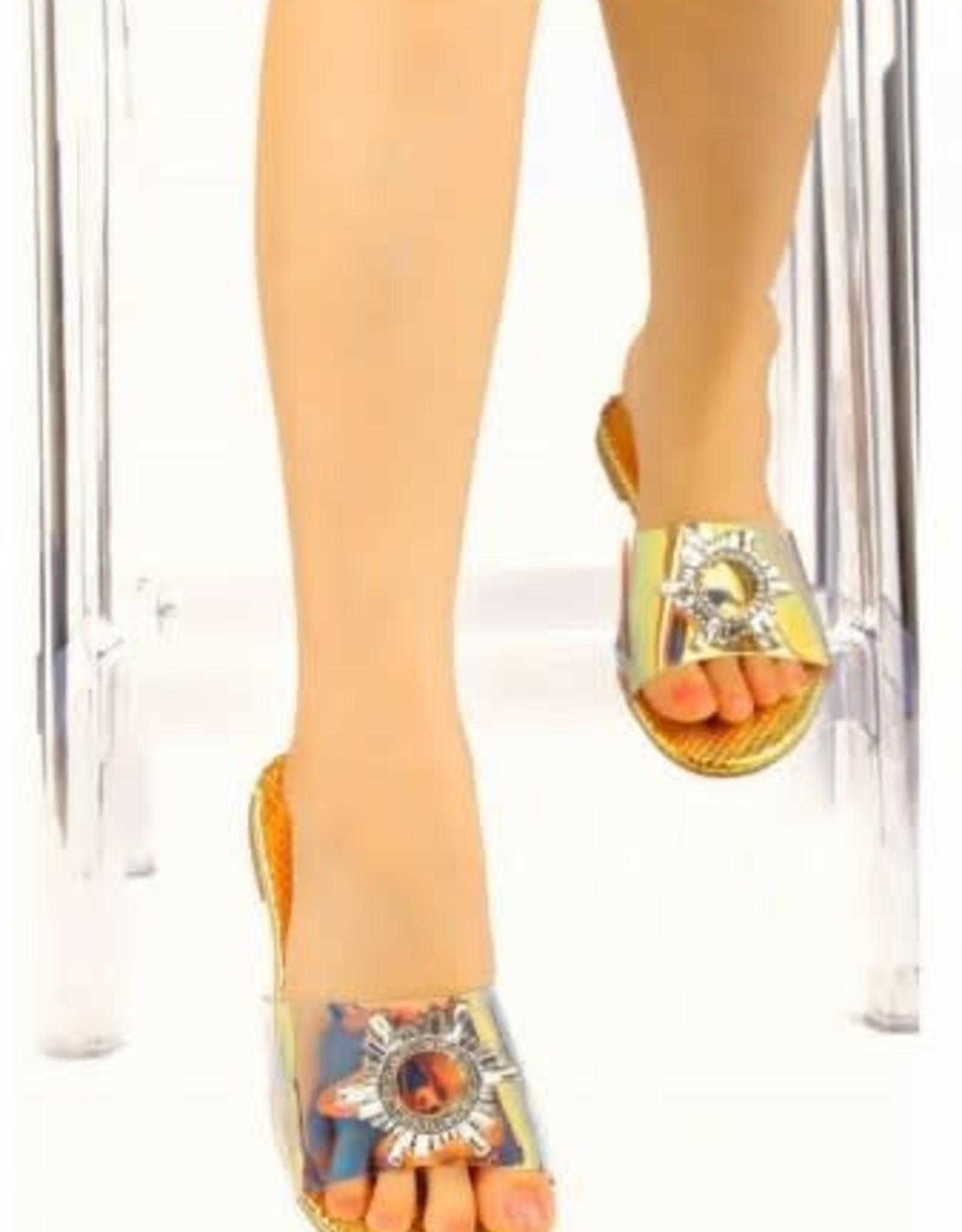 All That Glitters Sandals - Mermaid