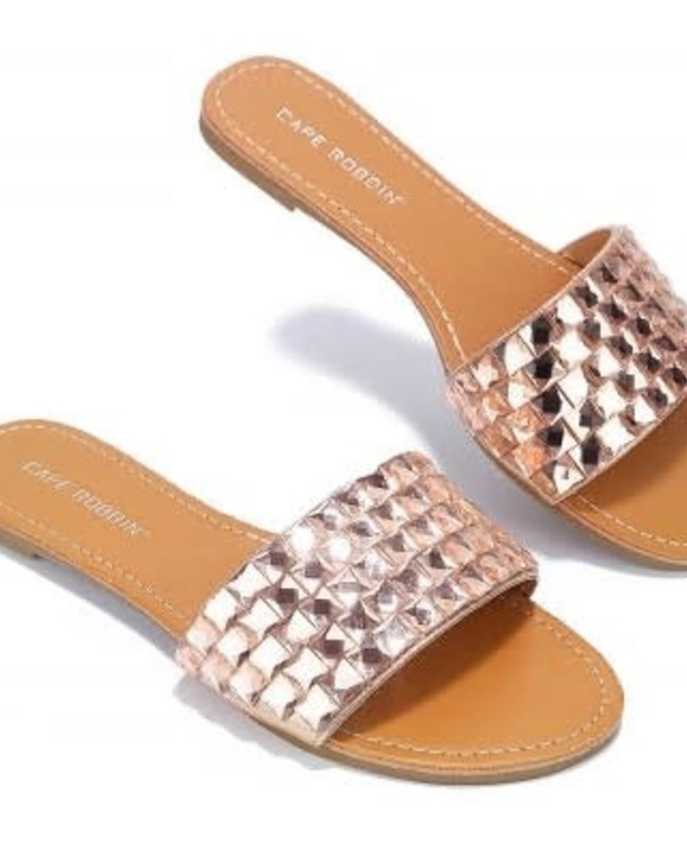 Glam Ego Sandals - Rose Gold