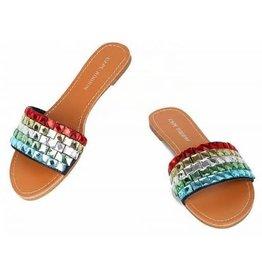 Glam Ego Sandals - Multi