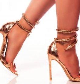 Haute Look Heels - Rose Gold