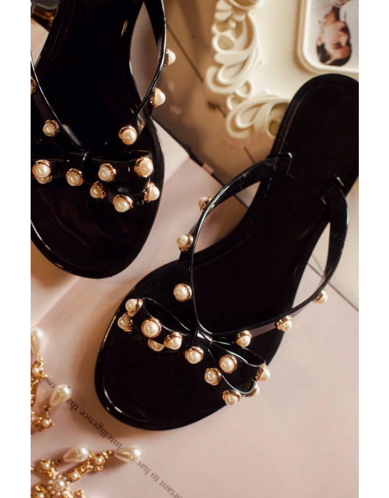 Seal The Deal Sandals Black