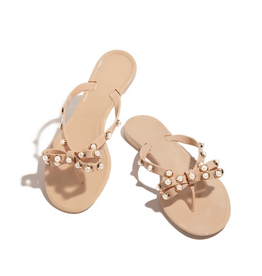 Seal The Deal Sandals Beige