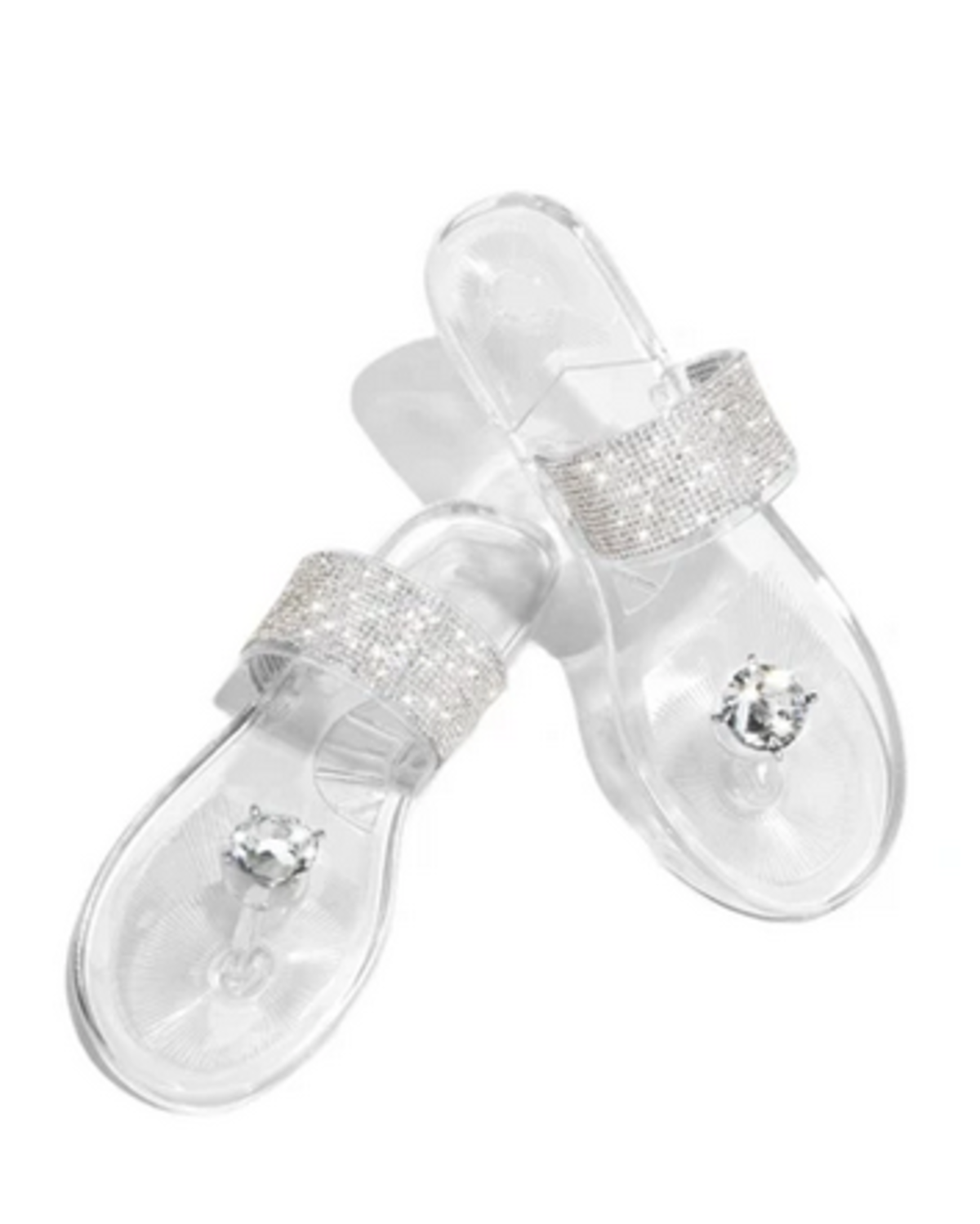 Such A Stud Sandals Clear